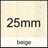 beige 25mm