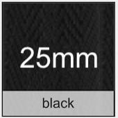 black 25mm