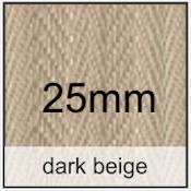 darkbeige 25mm