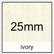 ivory 25mm