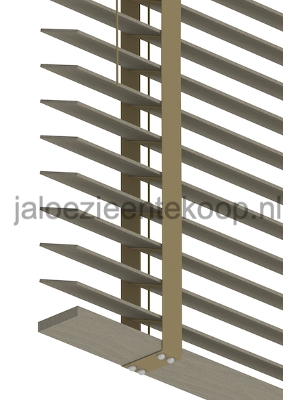 houten luxaflex 5cm