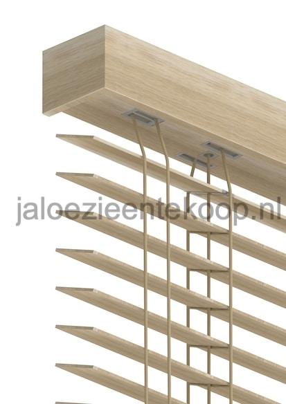 jaloezie beuken bamboe