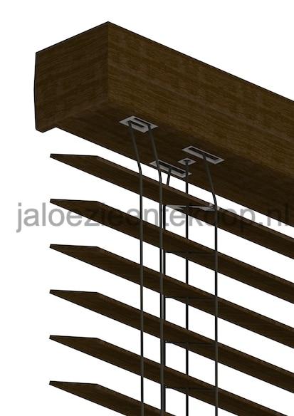 bamboe jaloezie wenge