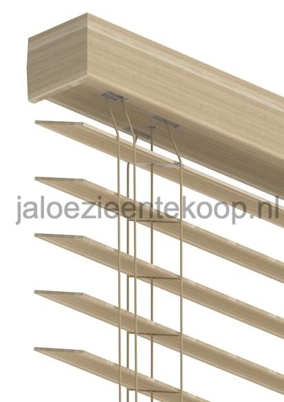 jaloezie bamboe beuken