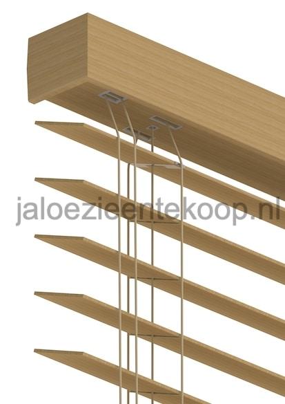 jaloezie bamboe eiken