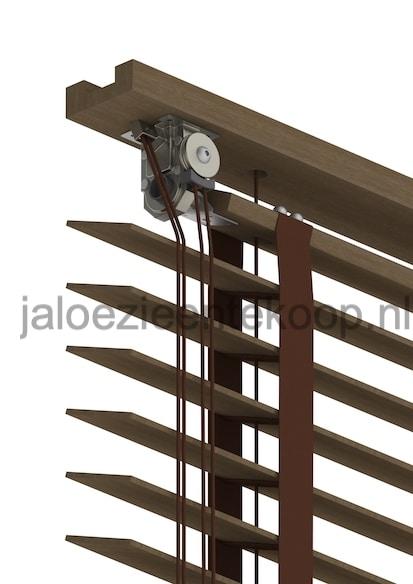 kastanje jaloezie bamboe
