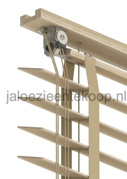 bamboe beuken jaloezie